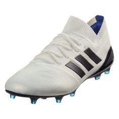 255af7a5f1908e adidas Women s Nemeziz 18.1 FG Soccer Cleats Off White Legend Ink Hi-Res  Blue-9