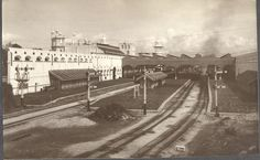 Keretapi Melayu - Railway Station Kuala Lumpur those days...