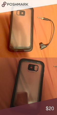 💘Lifeproof S6 case💘 Barely used Galaxy S6 lifeproof case. Got it and used for about a week till I switched to iPhone. Still water proof and in great condition! Comes with aux adapter 💜 LifeProof Other