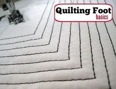 Did you ever think a sewing machine foot could take your topstitching to a whole new level? Allow me to introduce quilting foot and show you how it works.