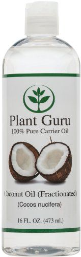 Coconut Oil Fractionated Base Carrier Oil for Aromatherapy Essential Oil or Massage use 16 oz -- BEST VALUE BUY on Amazon