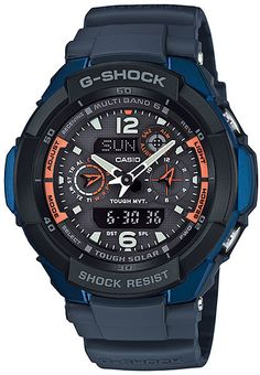 Mens G-Shock Tough Solar Sky Cockpit