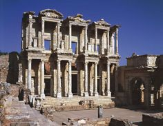 Turchia, Efeso, Biblioteca di Celso (sec. II d. C.)