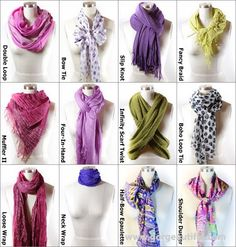 Easy Ways to Tie a Scarf