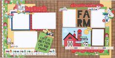 Barnyard Two Page Layout