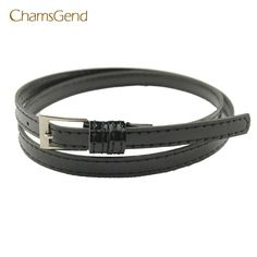 Chamsgend Coolbeenr belts for women belt Hot Beautiful Woman Multicolor Small Candy Color Thin Leather Belt Dec9 #CHAMSGEND #Belts #Cumberbirds #women_Belts #stylish_accessories #style #fashion