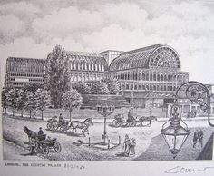 Crystal Palace, burned to the ground unfortunately, but a great innovation to architecture.