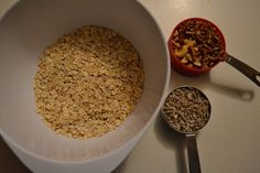 Best Ever:  Home Made Granola.   It's a gorgeous DIY
