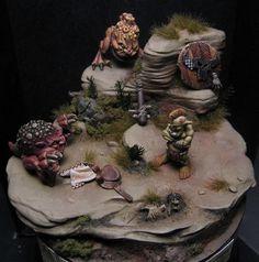 Warhammer Fantasy Miniatures Gallery: Golden Demon Award Winners Website