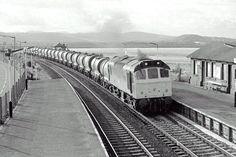 Arnside Railway Station, 1985 Diesel Locomotive, Railroad Tracks, Trains, Train, Train Tracks