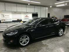 Full body wrap. Self healing clear bra paint protection film. After a complete paint enhancement polish. Then CQuartz ceramic coating applied to the protecting film. Giving this Tesla Model S 90d the top shelf in protection, and easy of care.