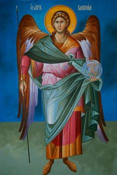 Archangel Gabriel #icône | St. Gabriel guide us in always communicating with clarity our intentions in respect, honor, and love.