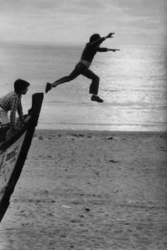 Go for it!.......Sabine Weiss
