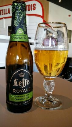 Leffe Royale Cascade IPA. Watch the video Beer review here…