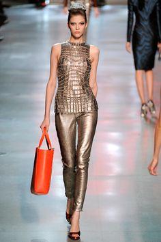 Paco Rabanne Dress 2012 | Paco Rabanne Metallic Fashion Trend Spring/Summer 2012 2013-2014 ...