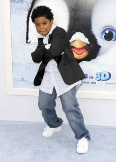 Benjamin Flores Jr.! I didn't know he played in Happy Feet.?