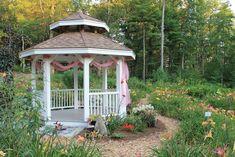 Garden Gazebo | Garden Gazebo, photo courtesy of Harmon Hill Farm