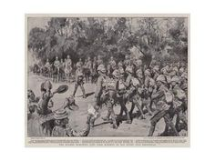 Giclee Print: The Matabili Insurrection, a False Alarm in Buluwayo, Townspeople Rushing into Laager by Melton Prior :
