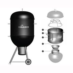 Smoke E Z - 22.5in | smokeez|Weber kettle grill smoker | FireCraft