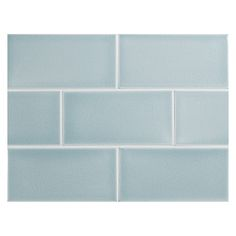 Complete Tile Collection Vermeere Ceramic Tile - Ice Blue - Crackle, x Manhattan Ceramic Subway Tile, MI Color: Ice . Kitchen Redo, Kitchen Tiles, Kitchen And Bath, Kitchen Remodel, Basement Kitchen, Condo Kitchen, Kitchen Stuff, Kitchen Countertops, Ceramic Subway Tile