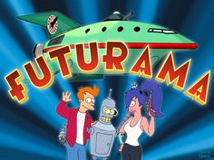Futurama - FOX One of the most fantastic and best sci-fi satire series ever Comedy Central, South Park, Futurama Characters, Science Fiction Tv Shows, Favorite Tv Shows, My Favorite Things, Audio Latino, Family Guy, Infancy