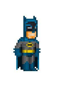 BATMAN #pixel #comics #batman