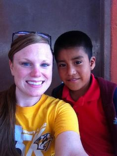 Twitter fan @Allyson Hall is supporting the Preds on her mission trip in San Quintin, Mexico this summer. #IsItOctoberYet