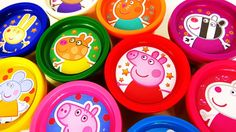 Peppa Pig Play Doh Learn Colors Peppa Pig Play Dough Colours Playset Pep...