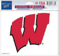 Team ProMark University of Wisconsin Large Bling Decal