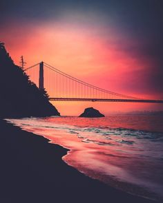 Kirby Cove Golden Gate Bridge San Francisco by @iwozzy by photoblog.sanfranciscofeelings.com sanfrancisco sf bayarea alwayssf goldengatebridge goldengate alcatraz california