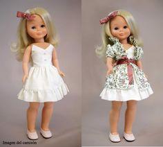 Este año el diseñador Ion Fiz ha realizado una colección de vestidos para Nancy ,y que se pueden comprar en Hola Caracola . Éstos son los ...