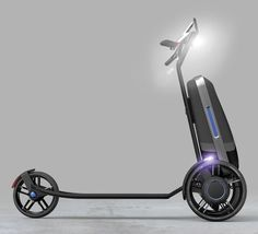 Designed by Christian Polonyi, a German industrial designer, CityPorter is a concept electric scooter to free you from public transport and traffic jam.