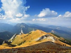 Photo: View of mountain range