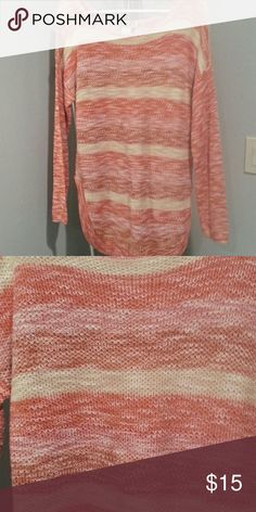 212 Orange and gold tunic It is in good condition. 53% rayon, 47% acrylic. two one two 212 Tops Tunics