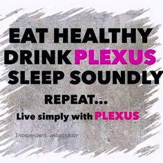 Plexus helps you to keep yourself healthy without feeling deprived, it helps you make better food choices, so how can you not love that.  It is all plant based vegan if you will, and has a Full 60 Day Money Back Guarantee, check it out and see if Plexus is for you! www.BrandMePink.MyPlexusProducts.com Ambassador Number 270277