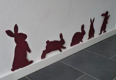 Schnelle Flur Ostern Dekoration mit Hase basteln Fast hallway Easter decoration with bunny tinker Happy Easter, Easter Bunny, Easter Eggs, Bunny Bunny, Easter Projects, Easter Crafts, Diy Natal, Diy For Kids, Crafts For Kids