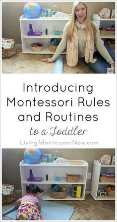 You can often start to introduce some of the basic Montessori rules and routines when your toddler is between the ages of 15 and 18 months. Introducing Montessori Rules and Routines to a Toddler Montessori Trays, Montessori Toddler, Toddler Activities, Montessori Homeschool, Montessori Materials, Teaching Geography, Teaching Kids, After School Routine, School Schedule