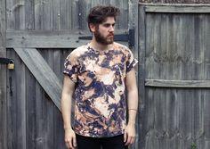 Sale // Unisex Oversized Grunge Acid Wash Tshirt by kissthefuture, £8.99