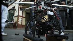 The OMCOPTER gives wings to the Red Epic by omstudios. The world's best camera learns how to fly.