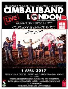 Cimbaliband concert and folk dance after party in London!