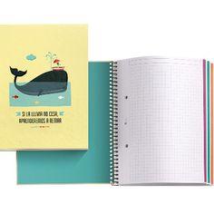 Interior Notebook 4 'Si la lluvia no cesa, aprenderemos a remar' diseñado por TuttiConfetti. MIQUELRIUS - Notebook 4 'If it doesn't stop raining, at least we will learn to row' designed byTuttiConfetti. MIQUELRIUS