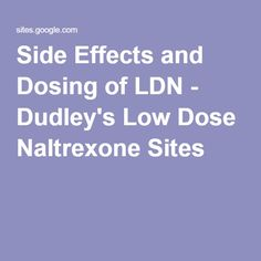 side effects of low dose naltrexone for fibromyalgia