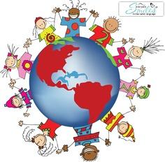 Everyone smiles in the same language. Que tierno es poder ver a un niño que aunque no hable tu idioma se puede comunicar a traves de una sonrisa.