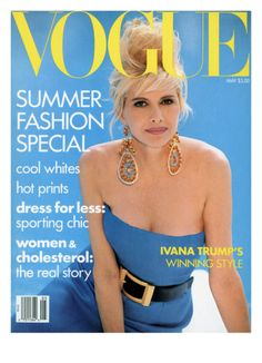 Vogue Cover - May 1990 by Patrick Demarchelier. Giclee Print from Art.com