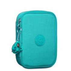 Estojo 100 Pens Verde Aqua Green Kipling Cute Pencil Pouches, Cool Pencil Cases, School's Out For Summer, Kipling Bags, Cute Room Decor, School Essentials, Cute Stationery, Baby Alive, Disney Frozen