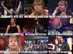 Dean Ambrose- with him #DeanAmbrose #WWE #DeanMemes #LetsGetCrazy #AmbroseAsylum #AmbroseDreamer