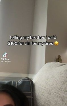 It's an unfortunate fact that many mechanics are pros at scamming unsuspecting drivers out of their money. There's nothing worse than realizing when it's too late - aside from sharing the trauma with your family members, of course. #car #tires #scamming #text Tired Funny, Problem Set, Tyre Shop, I Pay, The Millions, Her Brother, Funny Stories, Trauma, Funny Memes