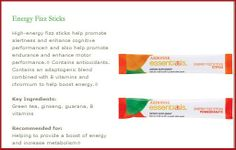 Arbonne Energy Fizz Sticks A healthy alternative to boost your energy and immune system