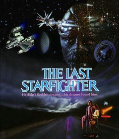 Alex Rogan gets recruited as a gunner for an alien defense force by beating the high score of the videogame Starfighter.    I've got some high scores on my track record, but I'm still waiting to be recruited..... Anyway, a lovely movie from 1982