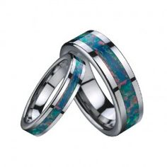 Tungsten Rings For Couples Lover's Tungsten Bands - USD $199.95
